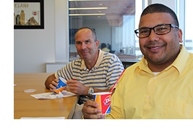 Cleveland CPAs Gary Sigman Eric James Blizzard Treats.jpg