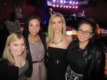 Allison Foutz, Epilepsy Association, Susan Licate, Zinner & Co., Sarah Buduson, WEWS TV 5, and Vanessa Dunne, Insivia, gather to support Rockin' the Keys for a Cause