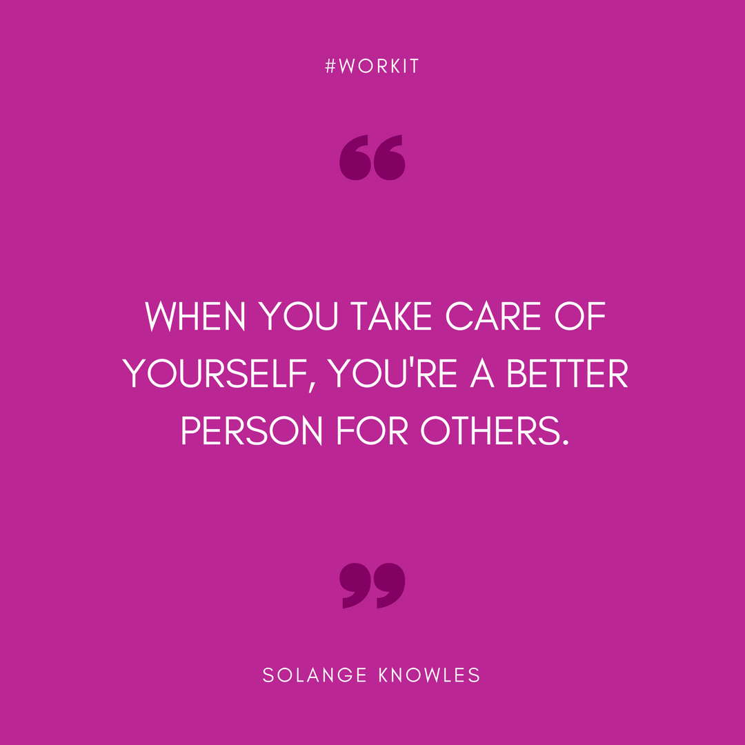 Work It Weekly Quotes - Instagram Solange Knowles
