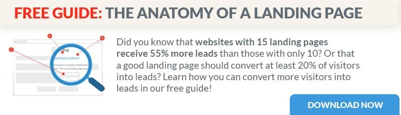 A Landing Page Checklist: [INFOGRAPHIC]