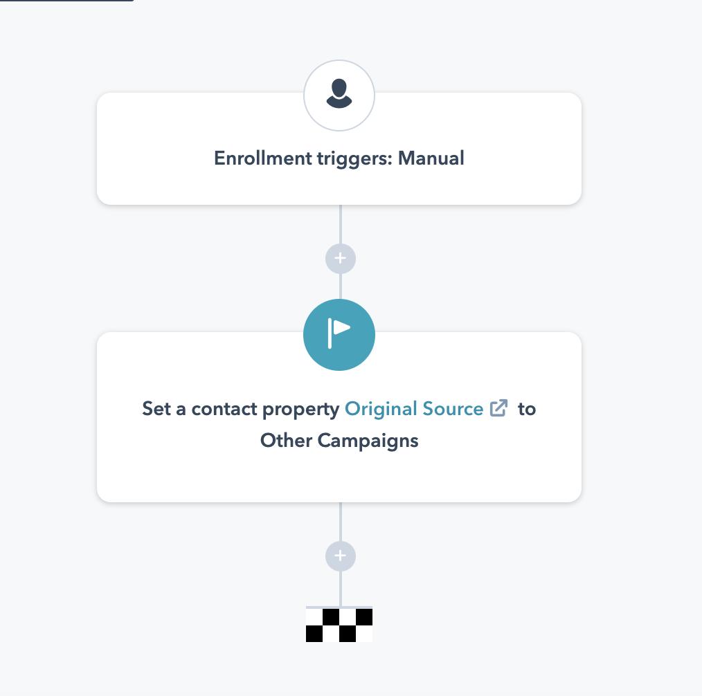 update offline source in HubSpot manually