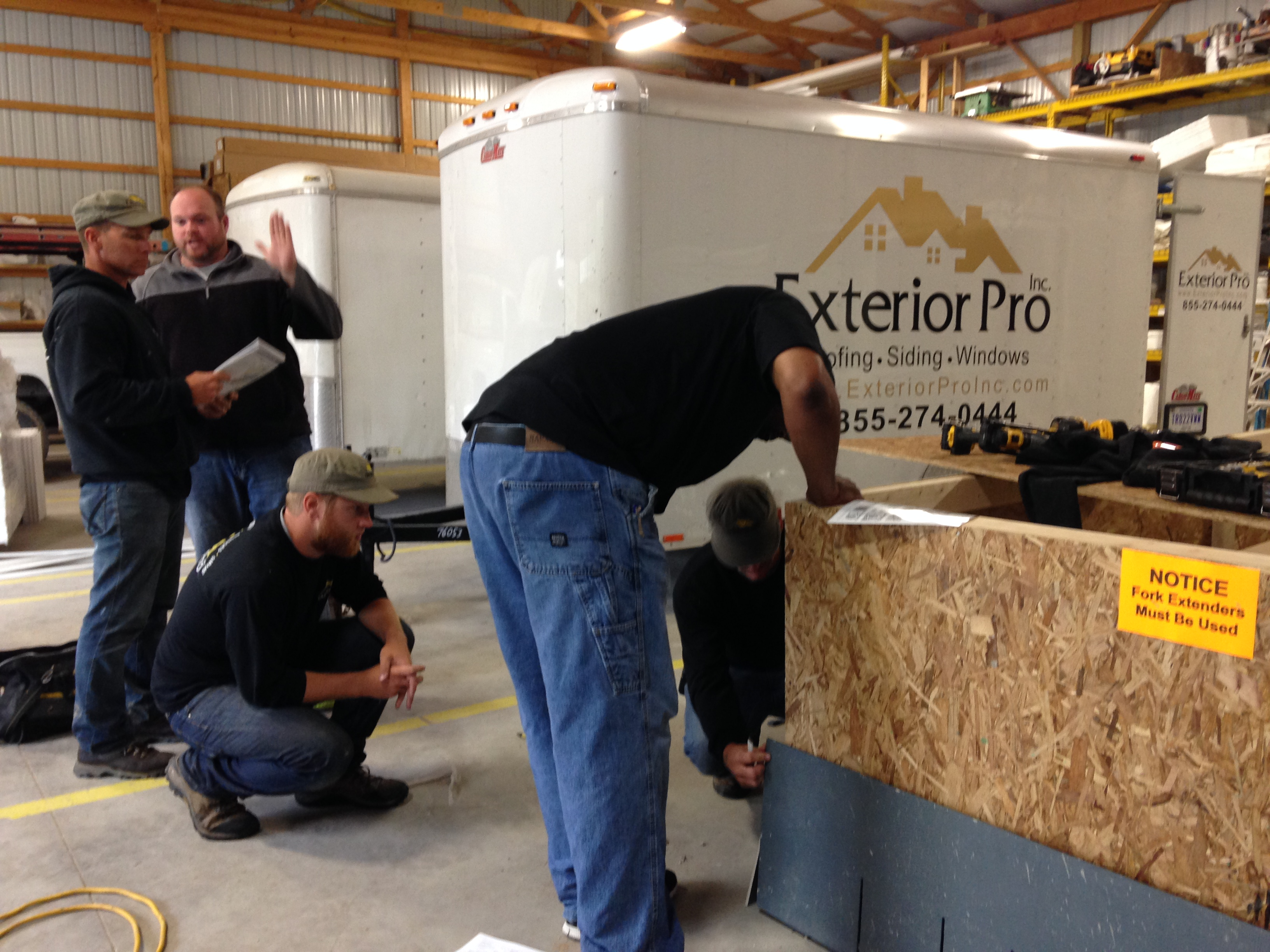 Exterior Pro Receives Training From James Hardie
