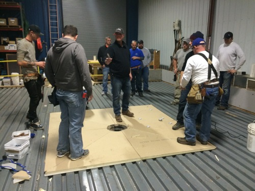 Tpo Flat Roof Training At Johns Manville
