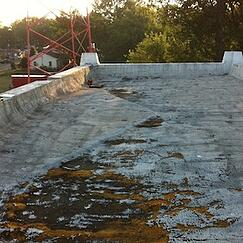 Flat roofs leaking across southern indiana from harsh 2013 for Roof leaking in winter