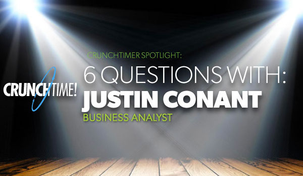 Blog feature image - CrunchTimer spotlight Justin Conant