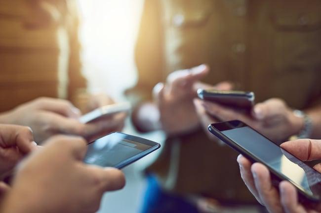employees communication phones
