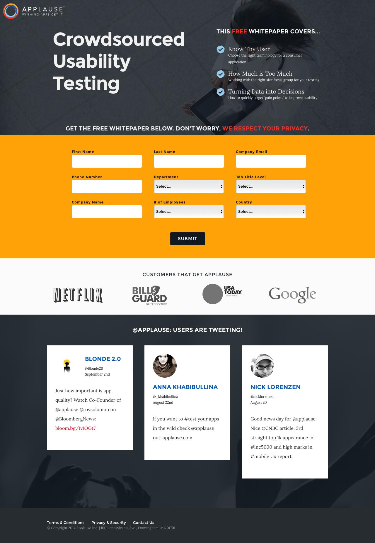 landing-page-example-applause