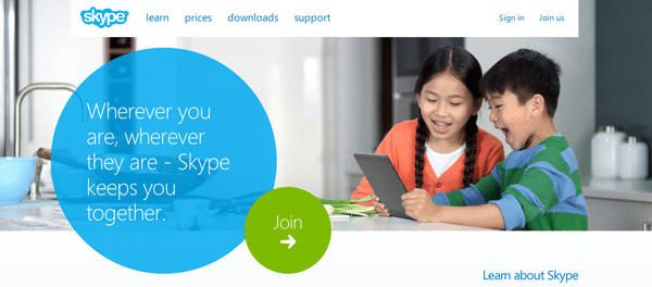 Value Proposition Example - Skype