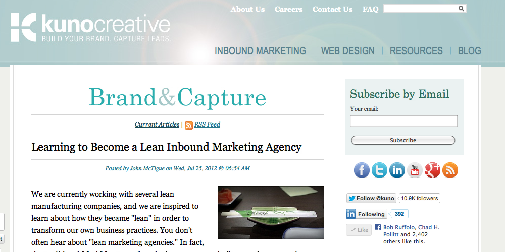 Kuno Inbound Marketing Blog