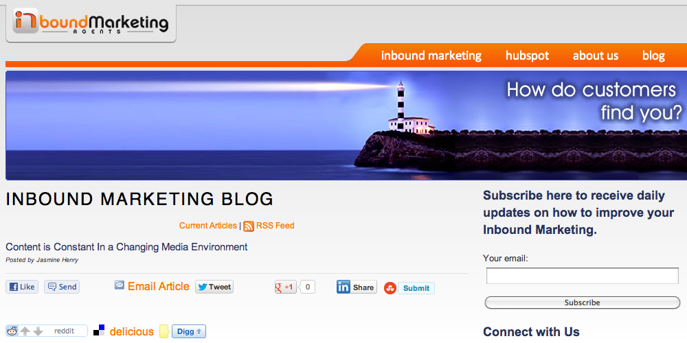 Inbound Marketing Agents Blog