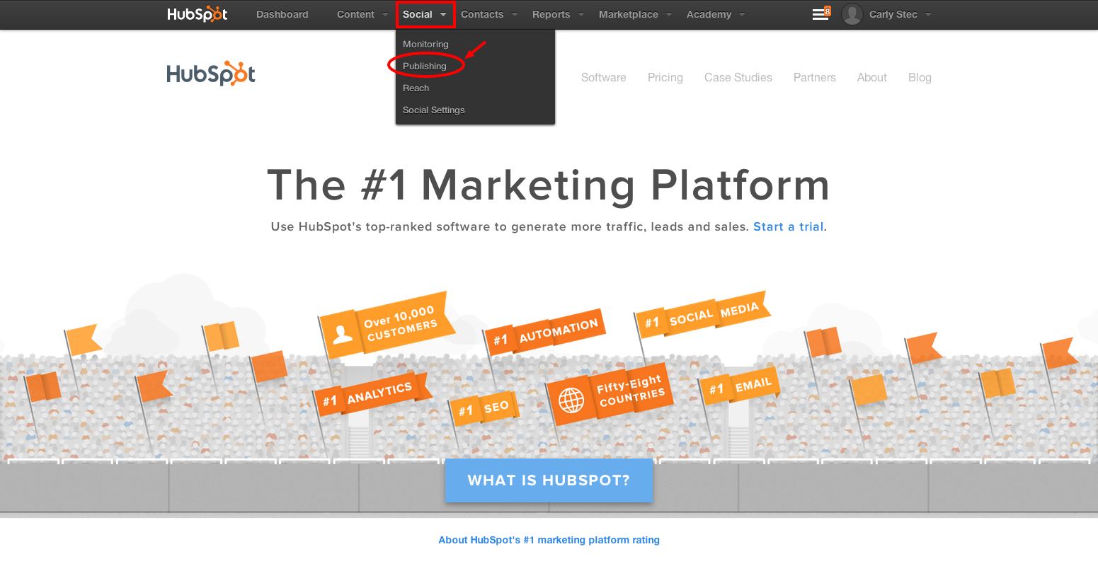 Hubspot how to scheduling social media posts pronofoot35fo Gallery