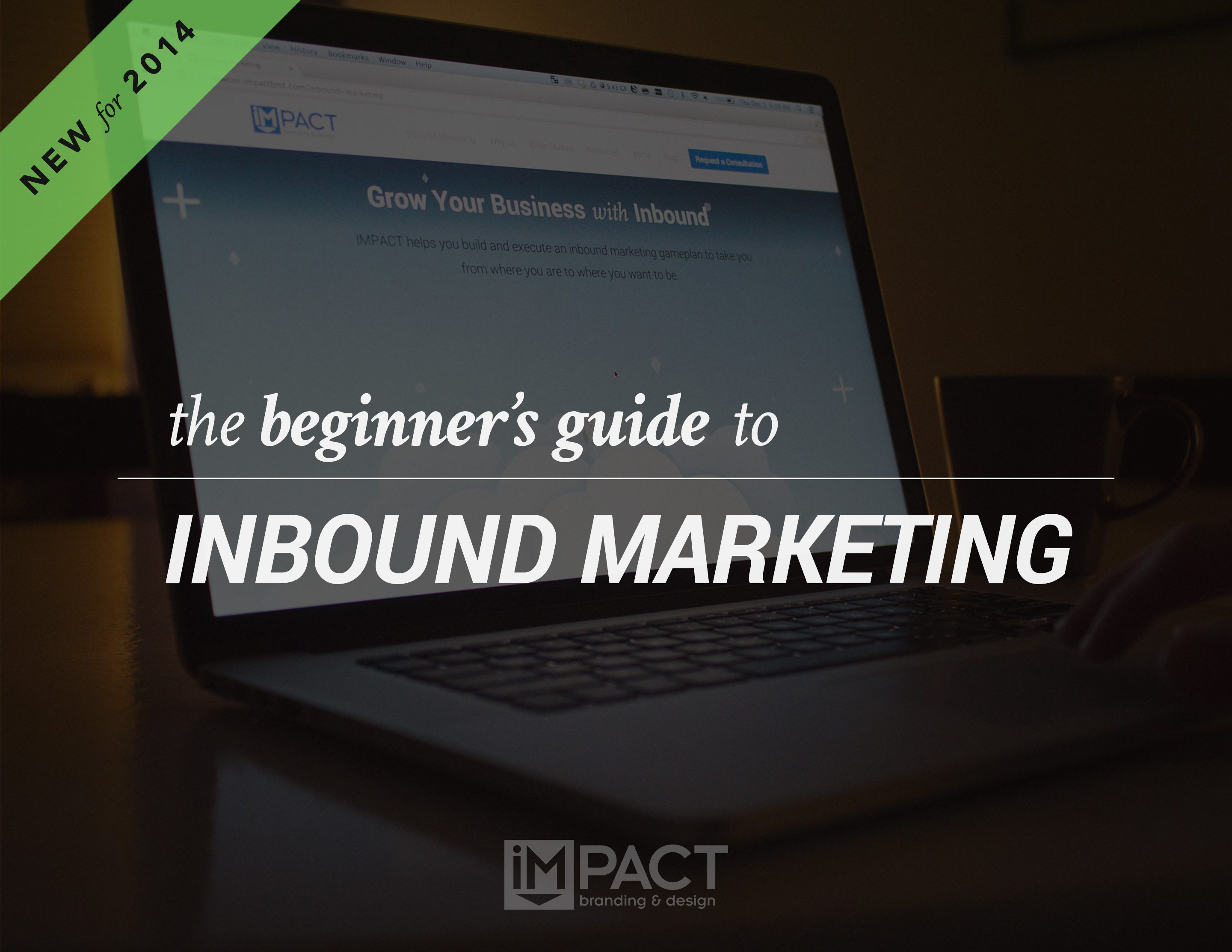 Free Ebook: The Beginners Guide to Inbound Marketing