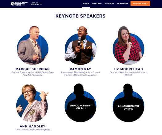 digital sales and marketing world speakers