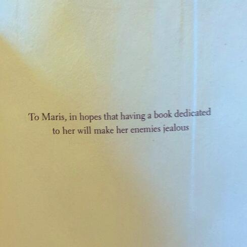 book-dedications