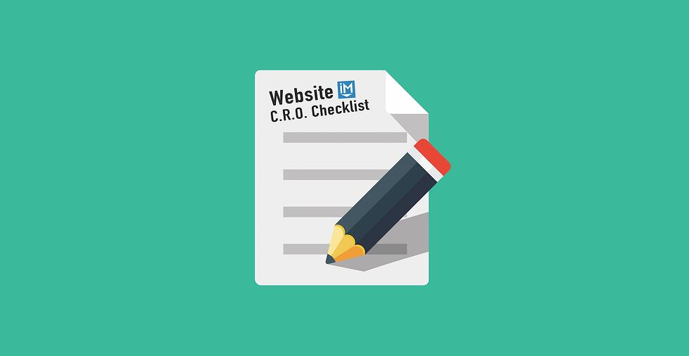 The Website Conversion Rate Optimization Checklist