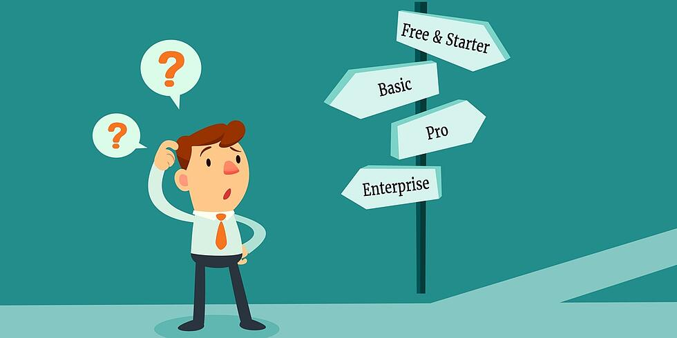 Which HubSpot Package is Right for You? Free vs. Basic vs. Pro vs. Enterprise