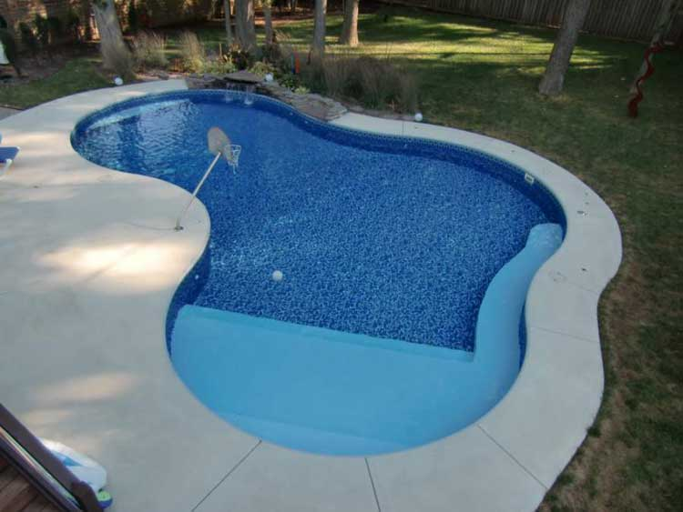 Great fiberglass pool shapes pictures to pin on pinterest