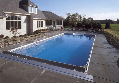 Pool Builders Indianapolis Cost Of Fiberglass And Vinyl Liner Inground Pools 2015