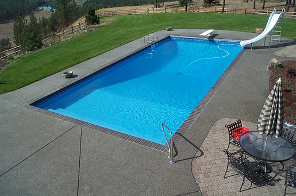Rectangle Diving Vinyl Liner Indianapolis