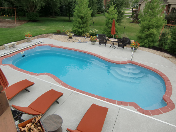 Perma pools educational blog what are the costs of a for Above ground pool decks indianapolis