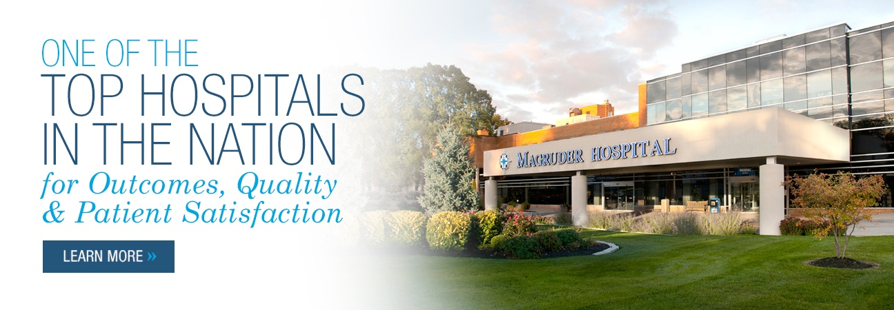 Magruder Hospitals - Top Hospitals in the Nation