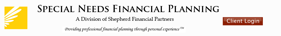Special Needs Financial Planning