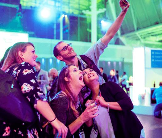 Selfies at INBOUND
