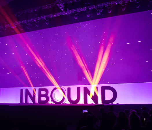 The INBOUND 2018 Stage Lighting