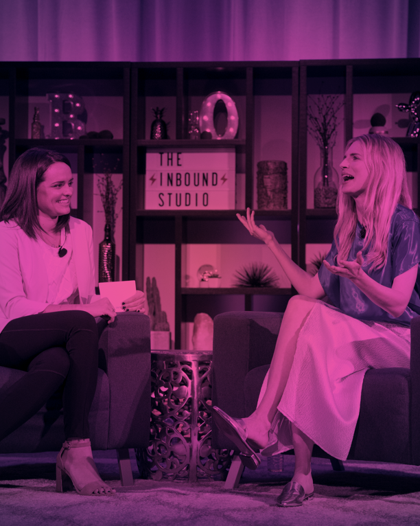 Brit Marling on The INBOUND Studio with Laura Moran