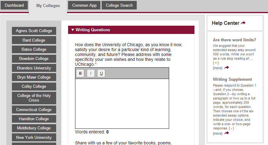 common app essay on sports Young writers show an appetite for risk in college application essays about  money, class and the economy, submitted at a columnist's invitation.
