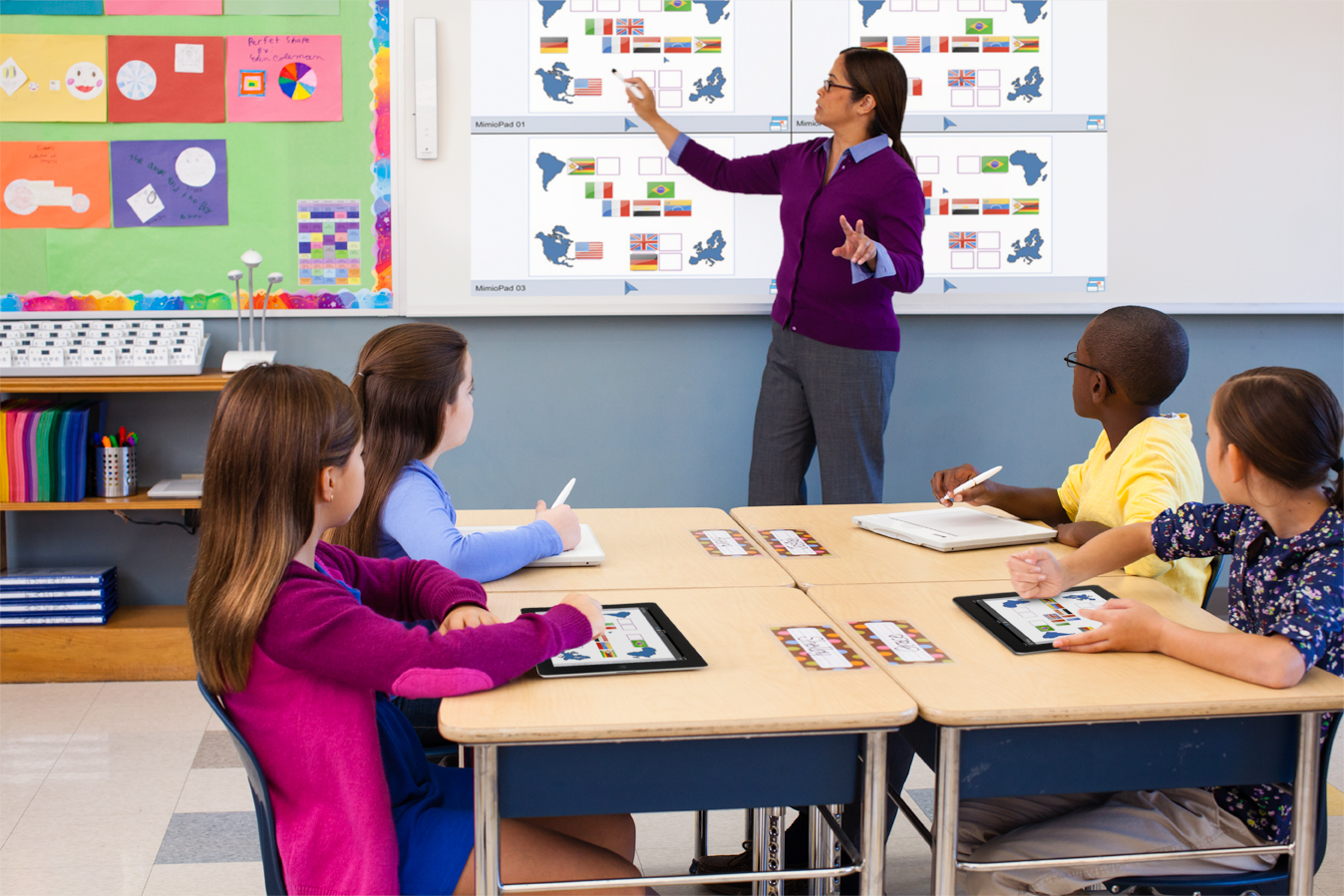 Collaborative Classroom Hub : Excited about classroom collaboration