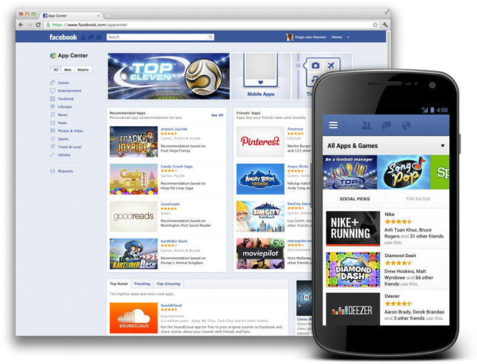 Facebook's App Center: From Hollywood to Bollywood and everywhere else!