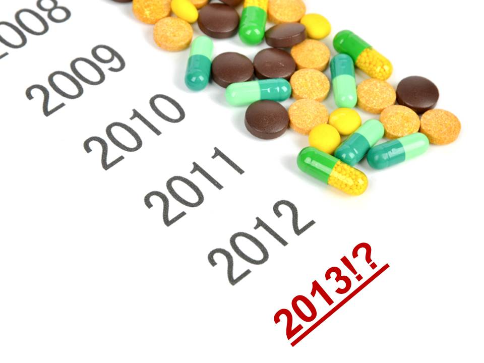 Was 2012 the year of pharmacovigilance? Wait, there's more in store in 2013!