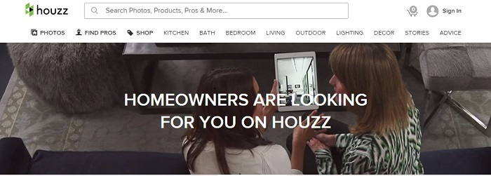 Houzz English Page