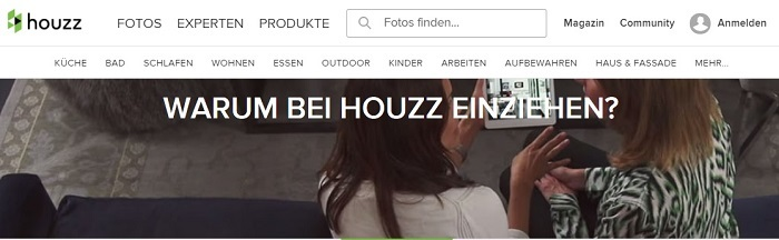Houzz German Page