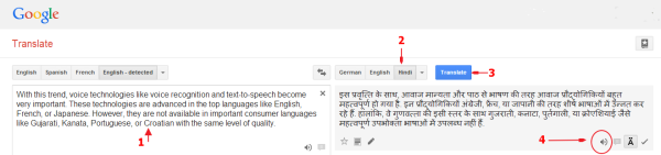 Is Google Translate's Text-to-Speech Good Enough for