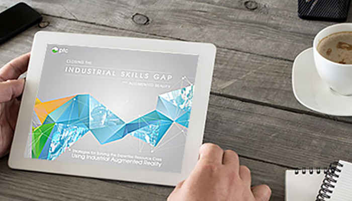White Paper Overview: Closing the Industrial Skills Gap with Industrial AR
