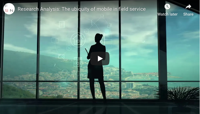 Research Analysis: The Ubiquity of Mobile in Field Service