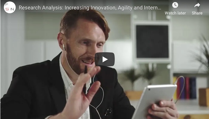 Research Analysis: Increasing Innovation, Agility and Internal Resource to Support Service