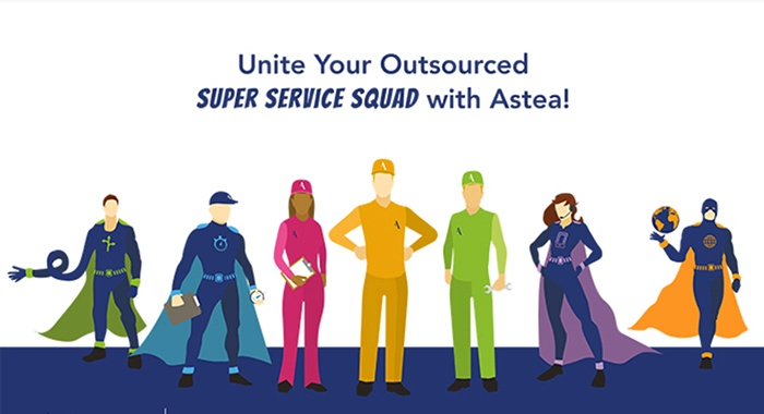 Infographic: Building your outsourced super service squad