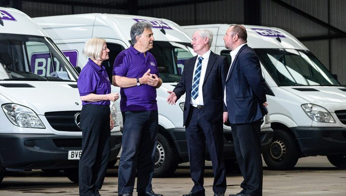 Service Logistics expert BDA defies disruptive roadworks to deliver on time