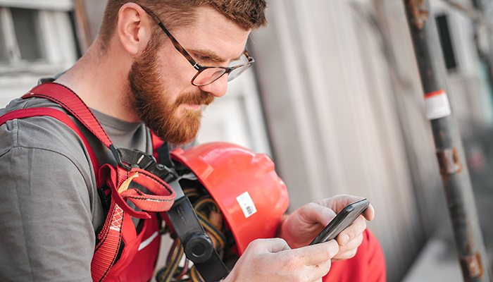 Is the Only Way to Connect with your Technicians Through an App?
