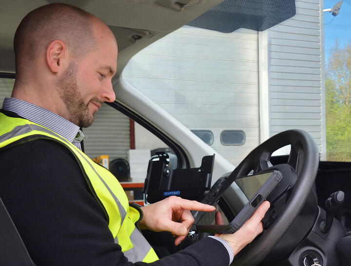 Captec Launch New In-Vehicle Tablet and Dock Solution