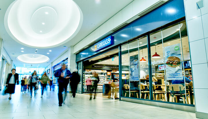 Greggs increases efficiency of Shop Maintenance service using Aeromark