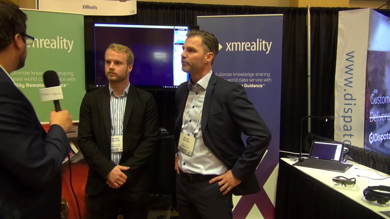 Field Service News @ FSUSA - Augmented Reality Demo with XM Reality