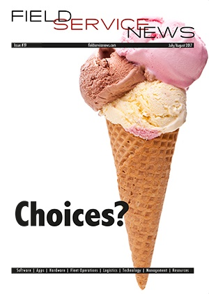 Editorial Leader: Field Service News issue 19 - Choices