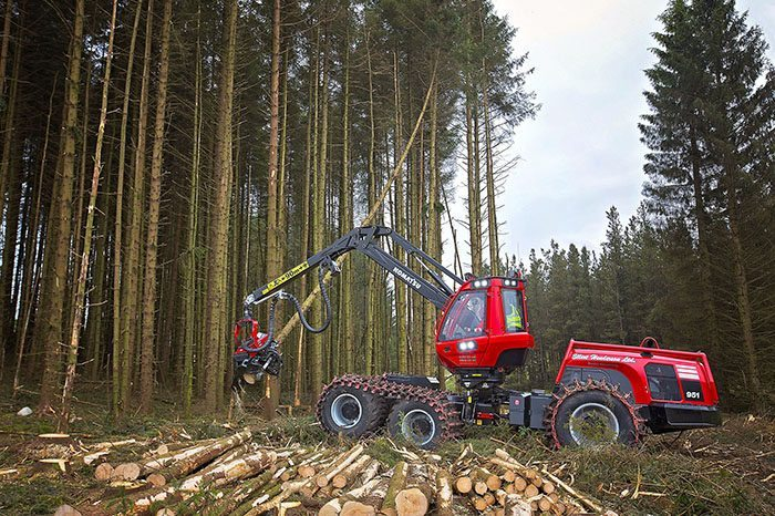 Komatsu Forest Harvests Savings with BigChange JobWatch