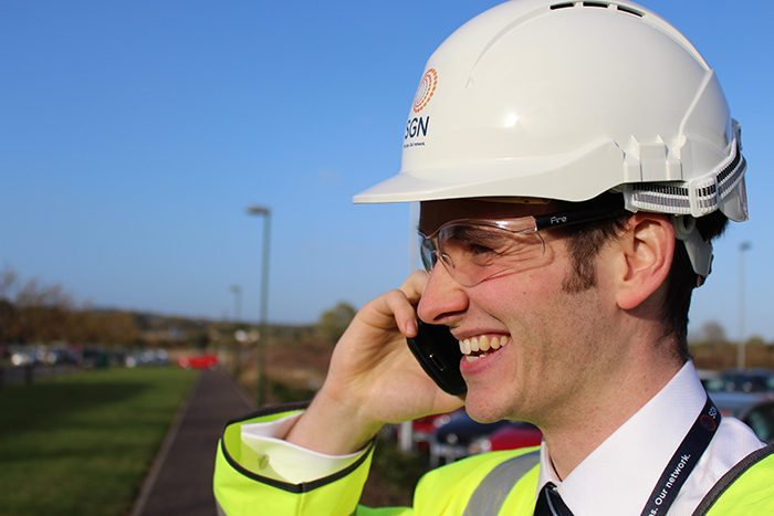 Energising field service at SGN