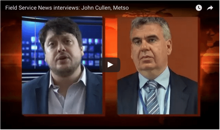 Interview: John Cullen, Metso, on Servitization