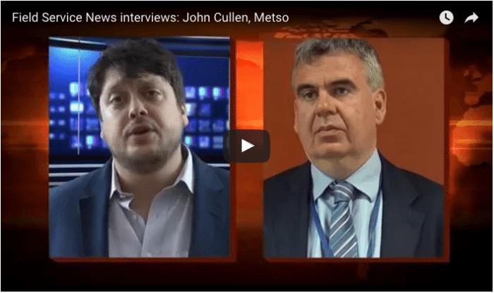 Interview: John Cullen, Metso, on Servitization